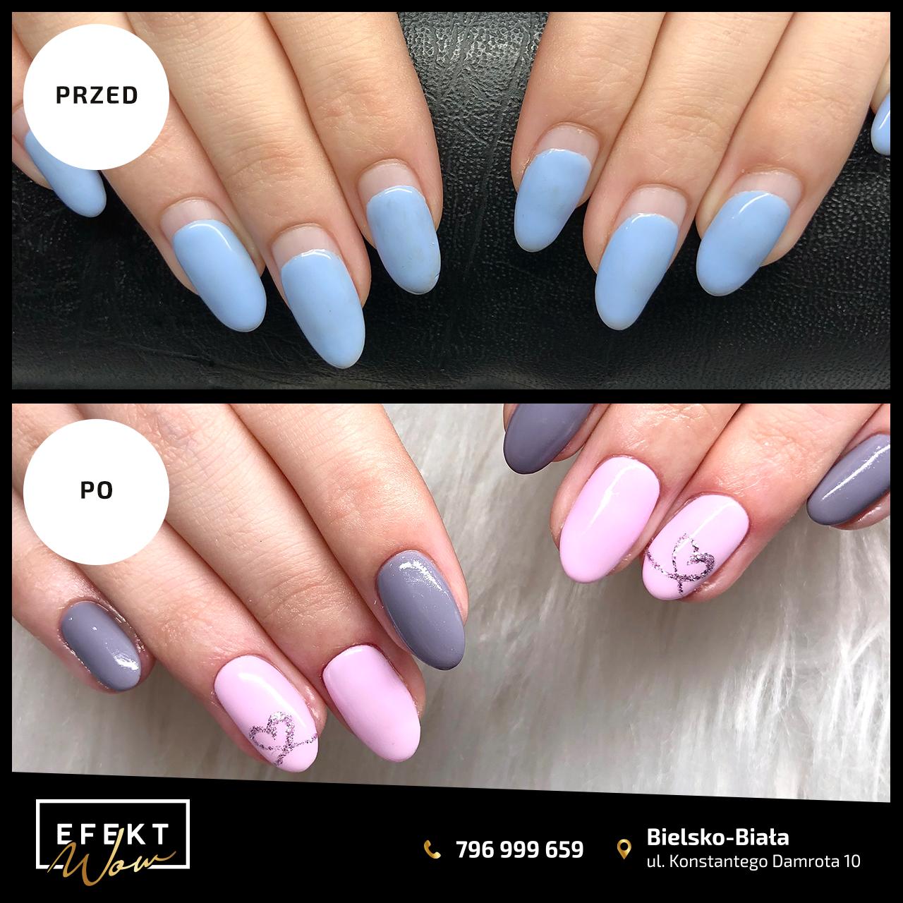 Manicure Bielsko-Biała - Salon Kosmetyczny Efekt WOW 5