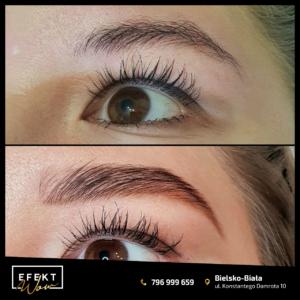 Henna brwi i rzęs Bielsko Biała - Salon Kosmetyczny Efekt WOW efekt 2